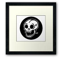 Sharpie Skull by zombieCraig Framed Print