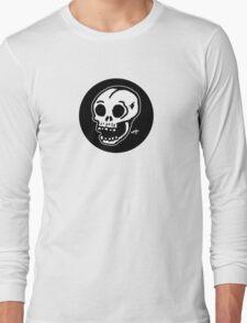 Sharpie Skull by zombieCraig Long Sleeve T-Shirt