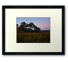 Autumn At Hahndorf Hill Winery Framed Print