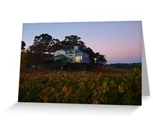 Autumn At Hahndorf Hill Winery Greeting Card