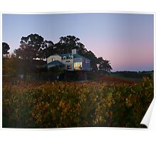 Autumn At Hahndorf Hill Winery Poster