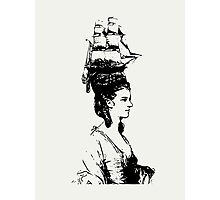 Ship Hat Photographic Print