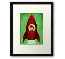 Rocket boy Framed Print