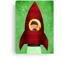 Rocket boy Canvas Print
