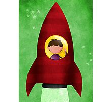 Rocket boy Photographic Print