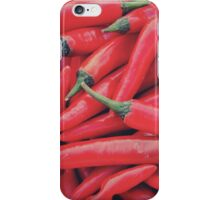 Red Peppers iPhone Case/Skin
