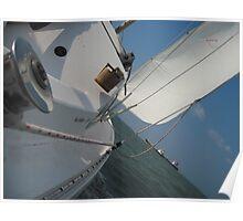 Sailing on Moonshine Poster