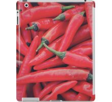 Red Peppers iPad Case/Skin