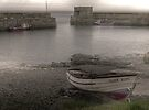 A Dreary Day in an 'Ol North-Eastern Fishing Village by Ryan Davison Crisp