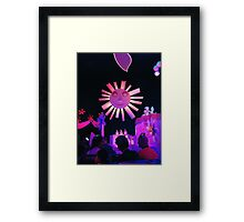 There is just one Moon & One golden Sun Framed Print
