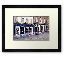 Alfresco Dining Framed Print