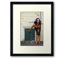 Anya Gil, no. 3 Framed Print