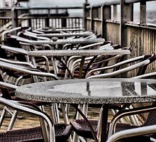 Cafe Tables by Karen  Betts