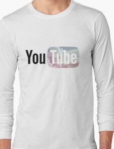 Pastel Sky YouTube Logo Long Sleeve T-Shirt