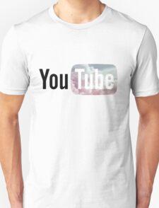 Pastel Sky YouTube Logo T-Shirt
