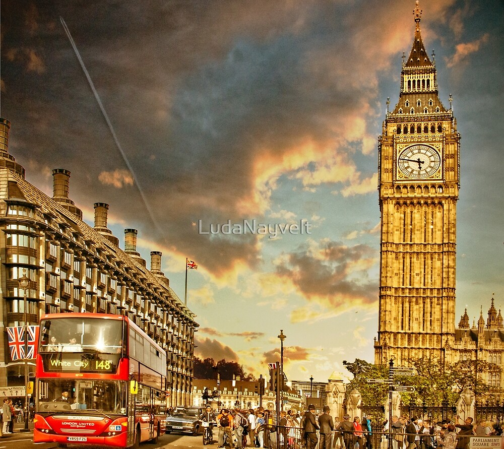 London life by LudaNayvelt