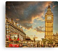 London life Canvas Print