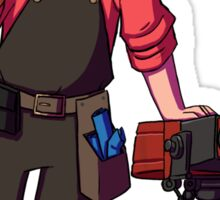 Team Fortress 2 - Red Engineer - Sentry Sticker