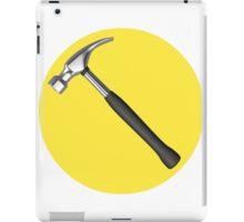captain hammer symbol iPad Case/Skin
