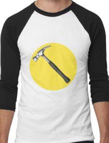 captain hammer symbol Men's Baseball ¾ T-Shirt