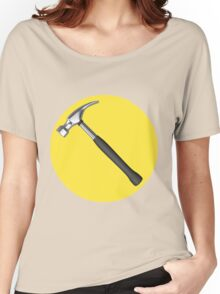 captain hammer symbol Women's Relaxed Fit T-Shirt