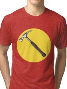 captain hammer symbol Tri-blend T-Shirt