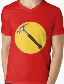 captain hammer symbol Mens V-Neck T-Shirt