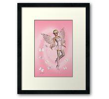 Pink Fae .. fantasy art Framed Print