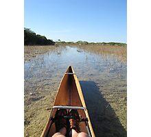 Everglade Canoe Trail Photographic Print