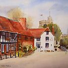 Chilham - Kent - England by Beatrice Cloake