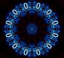 Mystic blue by Britta Döll