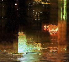 Windy City Night by RC deWinter