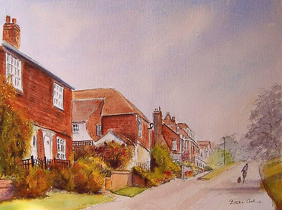 Stroll in Winchelsea by Beatrice Cloake