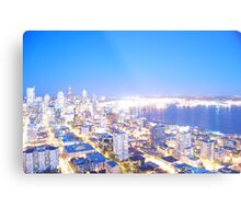Seattle overexposed Metal Print