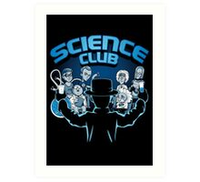 Science Club Art Print