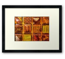Candy - Excellent Chocolates Framed Print