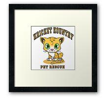 Kricket Kountry Pet Rescue Framed Print