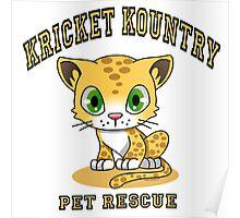 Kricket Kountry Pet Rescue Poster