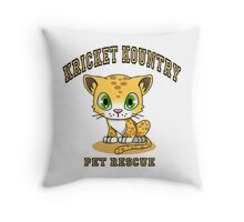 Kricket Kountry Pet Rescue Throw Pillow