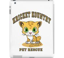 Kricket Kountry Pet Rescue iPad Case/Skin