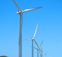 Bangui, Ilocos Norte, Philippines Windmill by walterericsy