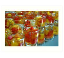 Fruit cocktail Art Print