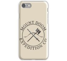 Mount Doom Expedition Co. iPhone Case/Skin