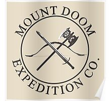 Mount Doom Expedition Co. Poster