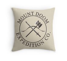 Mount Doom Expedition Co. Throw Pillow