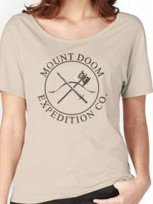 Mount Doom Expedition Co. Women's Relaxed Fit T-Shirt