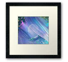 In The Misty Moonlight Framed Print