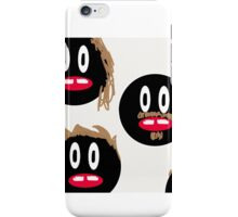 The Hairy Faces iPhone Case/Skin