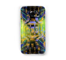 Colorful Psychedelic Abstract Fractal Art Samsung Galaxy Case/Skin