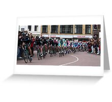 Giro d'Italia 2010, Utrecht. Greeting Card